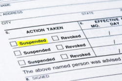 Driver's License Suspension by BMV & Indiana Insurance Suspensions
