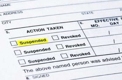 Driver's License Suspension by BMV & Indiana Insurance Suspensions 5 year HTV